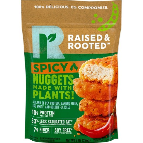 Raised & Rooted Alt-Protein Frozen Spicy Nuggets - 8oz - image 1 of 2