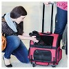 Gen7Pets Cat and Dog Roller-Carrier - M - image 4 of 4