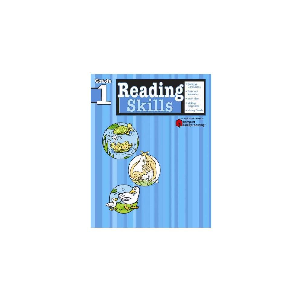 Reading Skills : Grade 1 - Workbook (Flash Kids Harcourt Family Learning) (Paperback)