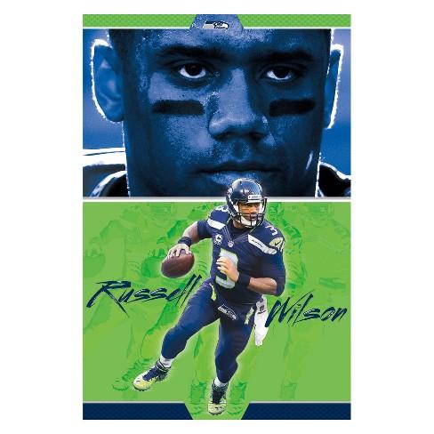 59c03a92c00 Seattle Seahawks Russell Wilson Unframed Wall Poster : Target