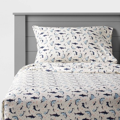 Shark Microfiber Sheet Set - Pillowfort™