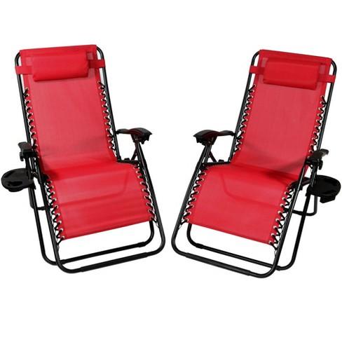 Bliss Hammocks 33 Inch Reclining Zero Gravity Chair with Canopy Blue Flowers