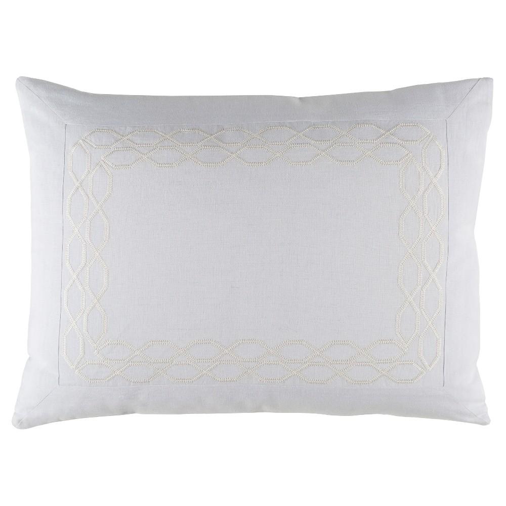 Patterson Luxury Bedding Sham (Standard) Lavender (Purple) - Surya