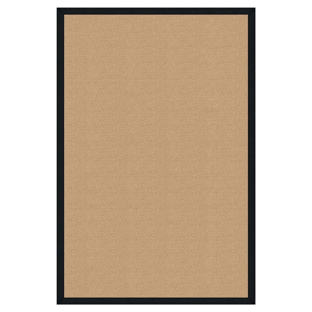Athena Wool Area Rug - Black (5' X 8')