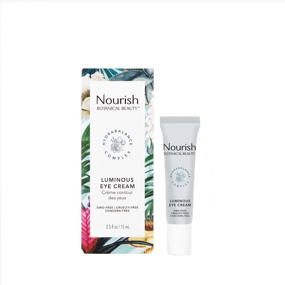 Image of Nourish Organic Botanical Beauty Luminous Eye Cream - 0.5 fl oz