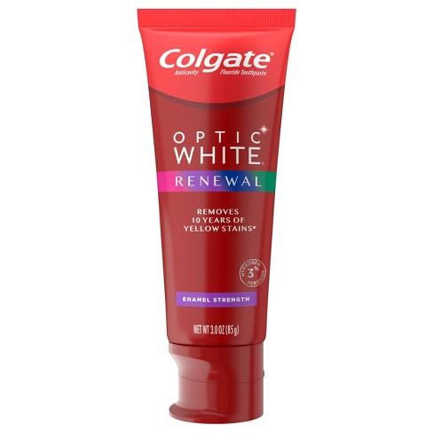 Colgate Optic White Renewal Teeth Whitening Toothpaste - Enamel Strength - 3oz - image 1 of 4