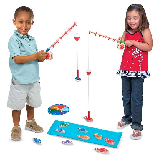 Melissa & Doug Catch & Count Fishing Game image number null