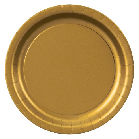 48ct Dinner Plate - Gold - image 1 of 1