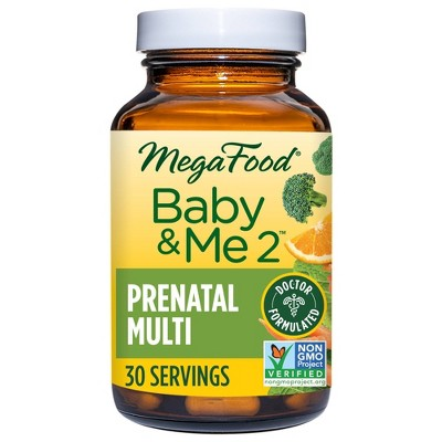 MegaFood Baby & Me 2 Multivitamin Tablets - 60ct