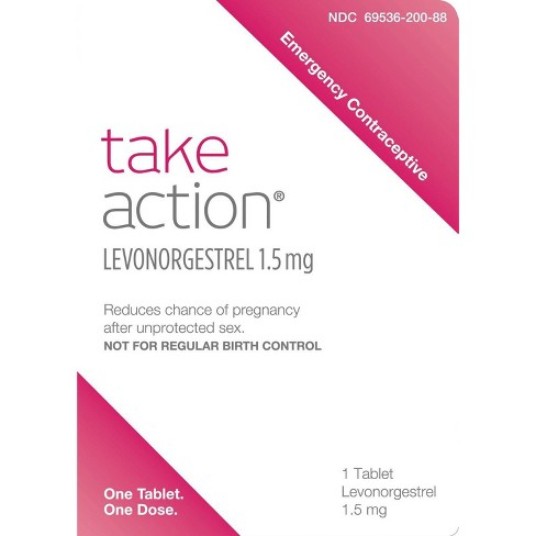 Take Action Emergency Contraceptive - image 1 of 3