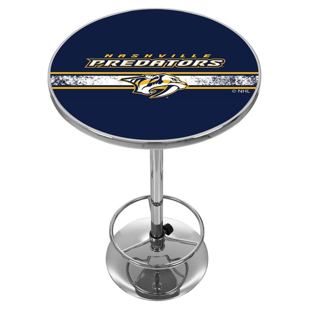 NHL Nashville Predators Chrome Pub Table