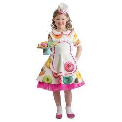 Toddler Girls' Donut Waitress Costume 18M-2T