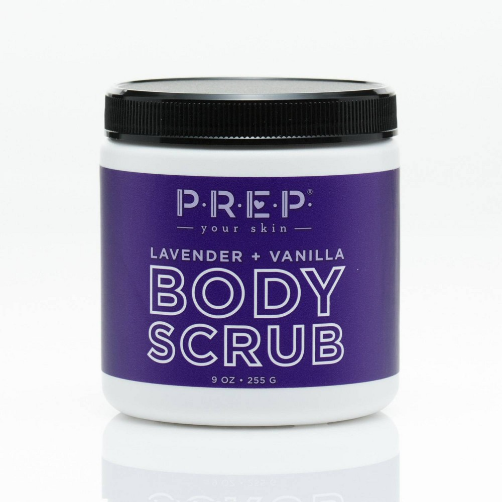 Image of PREP Your Skin Lavender and Vanilla Body Scrub - 9oz