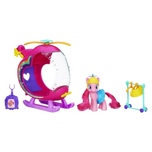 My Little Pony Pinkie Pie's Rainbow Helicopter Playset - image 1 of 2