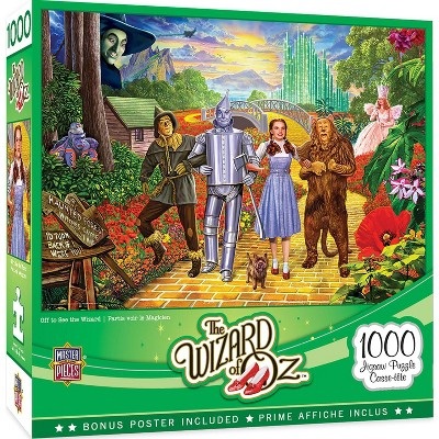 MasterPieces Inc Wizard of Oz Off to See the Wizard 1000 Piece Jigsaw Puzzle