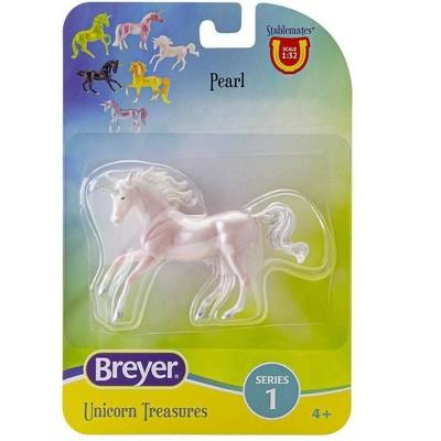 Breyer Animal Creations Breyer Unicorn Treasures 1:32 Scale Model Horse   Pearl