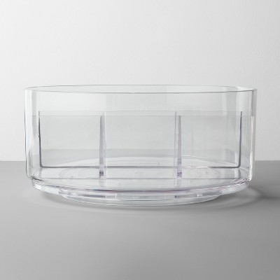 Bathroom Plastic Spinning Turntable Beauty Organizer Clear - Made By Design™