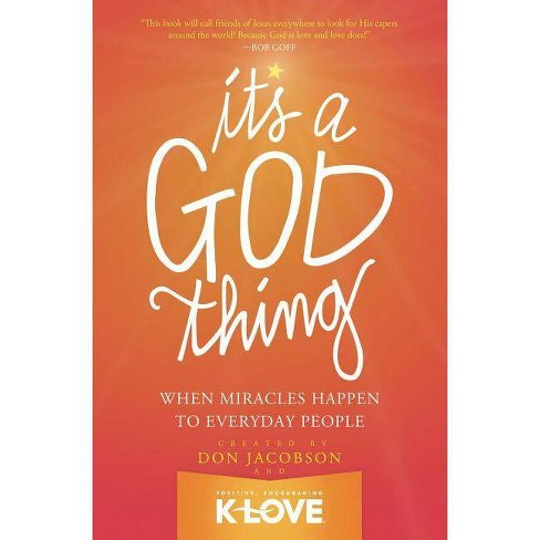 It's a God Thing - by  Don Jacobson (Paperback) - image 1 of 1