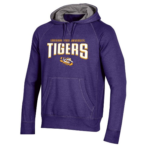 NCAA LSU Tigers Men's Cotton Hoodie - image 1 of 2