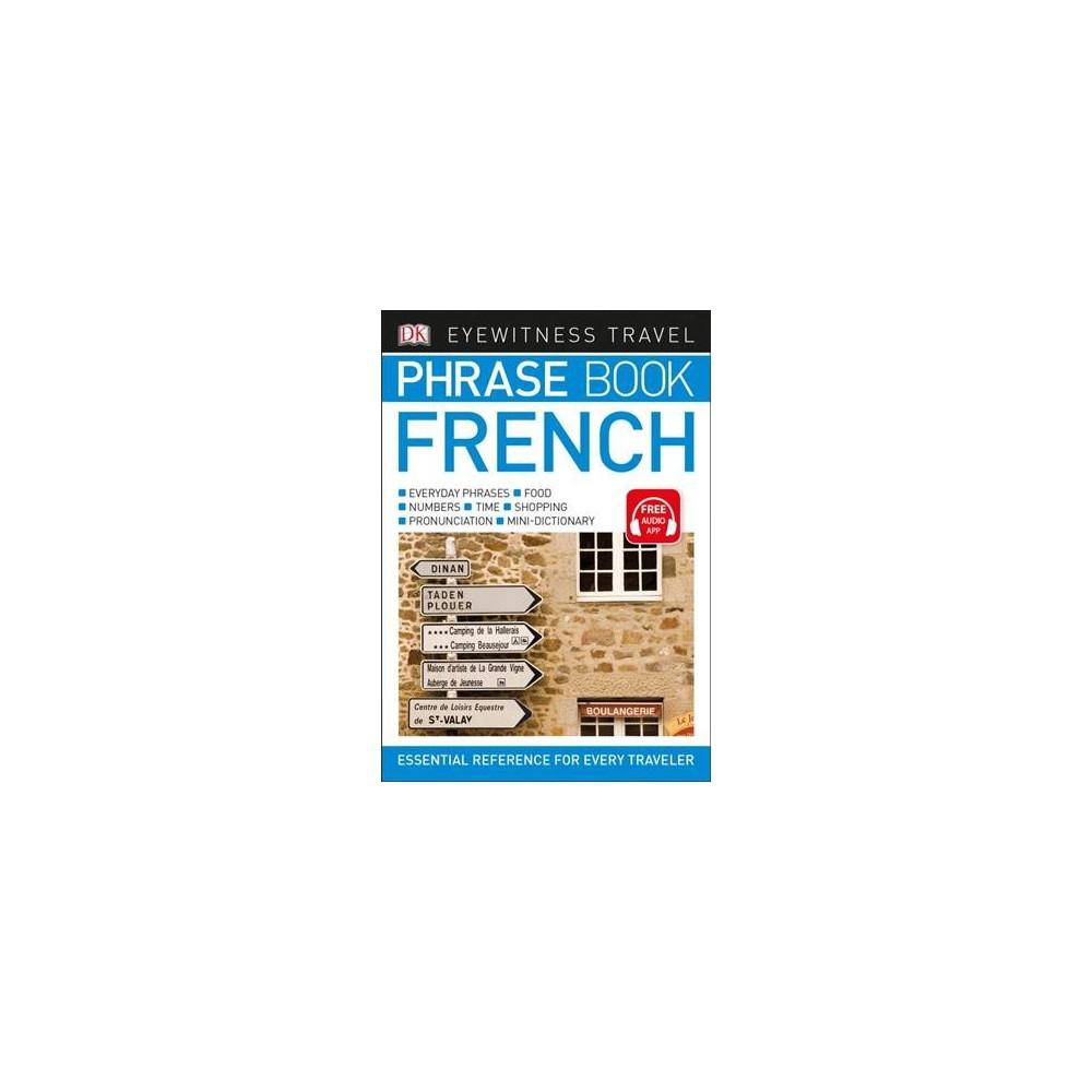 DK Eyewitness Travel Phrase Book French - (Paperback)