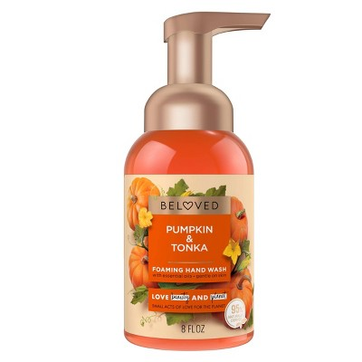Beloved Pumpkin & Tonka Foaming Hand Wash - 8 fl oz