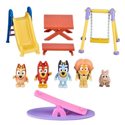Bluey Deluxe Park Themed Playset