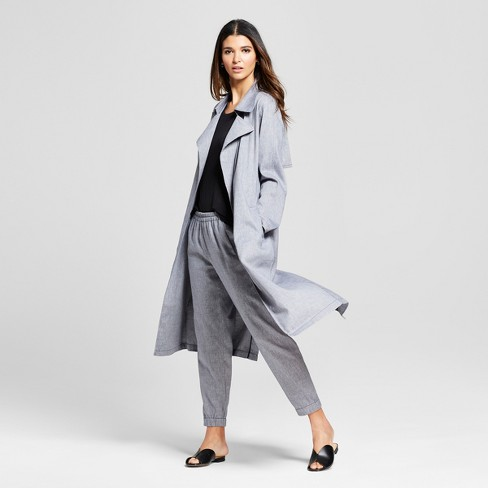 Women's Duster Jacket - Mossimo™ Blue - image 1 of 2