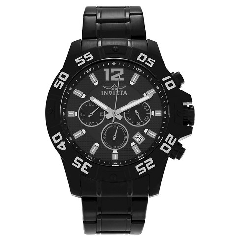 Men's Invicta 1505 Specialty Quartz Chronograph Link Watch - Black - image 1 of 3