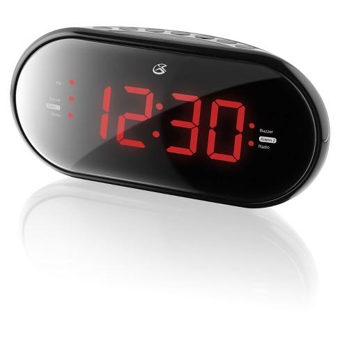GPX Dual Alarm Clock Radio (PLL) - Black (C253B) - image 1 of 2