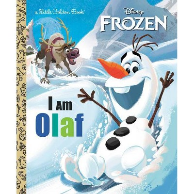 I Am Olaf (Disney Frozen) - (Little Golden Book) by  Christy Webster (Hardcover)