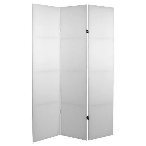 6 Ft Tall Do It Yourself Canvas Room Divider 3 Panel Oriental