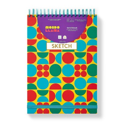 "9""x13"" Circular Art Sketchbook - Mondo Llama™"
