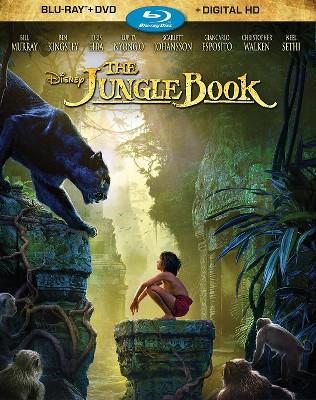 The Jungle Book (Blu-ray/DVD + Digital)
