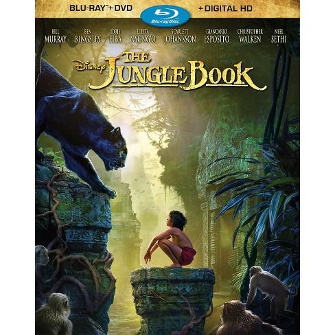 The Jungle Book (Blu-ray/DVD + Digital) - image 1 of 1