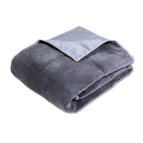 50 X 70 Cooling 12lb Weighted Bed Blanket Gray Calming Comfort Target