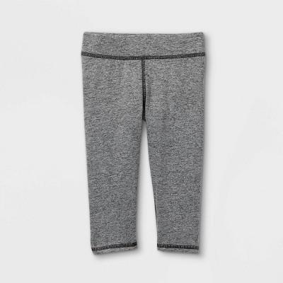 Toddler Girls' Capri Activewear Leggings - Cat & Jack™ Gray