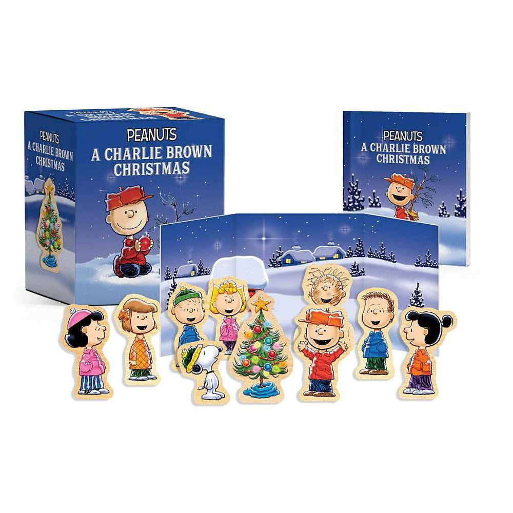 Peanuts A Charlie Brown Christmas Wooden Collectible Set Rp Minis By Charles M Schulz Paperback