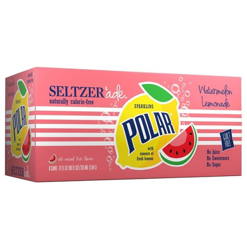 Polar Seltzerade Watermelon Lemonade - 8pk/12 fl oz Cans - image 1 of 3