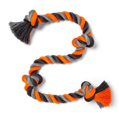 Dog Rope Toy - 4 Knot - L - Boots & Barkley™ - image 1 of 3