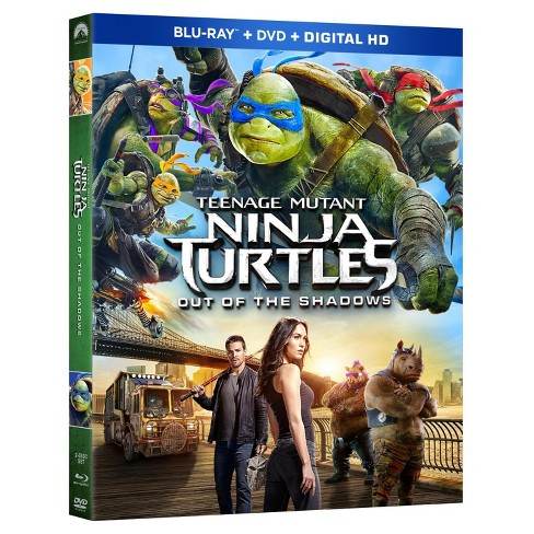 Teenage Mutant Ninja Turtles Out Of The Shadows Blu Ray Dvd Digital Target