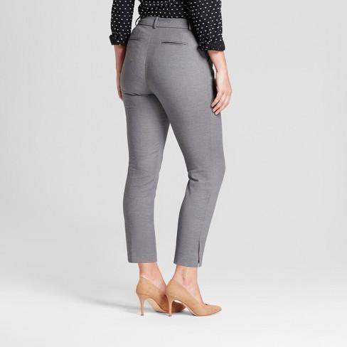 fe59b619cc1 Women s Straight Leg Curvy Fit Slim Ankle Pants - A New Day™   Target