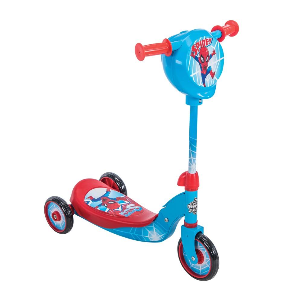 Huffy Spider-Man Secret Storage Scooter, Blue