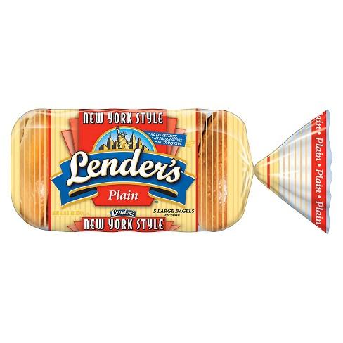Lender's Plain Bagel Shop Bagels - 6ct - image 1 of 1