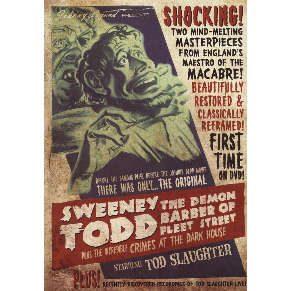 Sweeney Todd:Demon Barber Of Fleet St (Dvd)