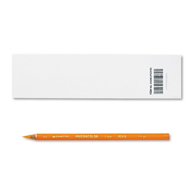 Prismacolor Premier Colored Pencil Orange Lead/Barrel Dozen 3348