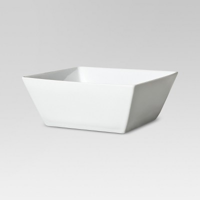 Square Rim Cereal Bowl Porcelain 15oz Set of 4 - Threshold™