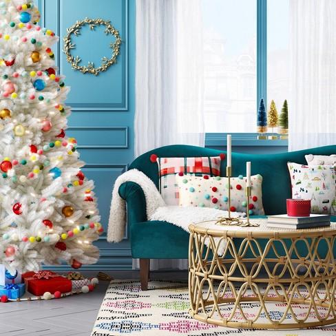 50ct Ornament Set 70mm Rosegold Champagne Wondershop