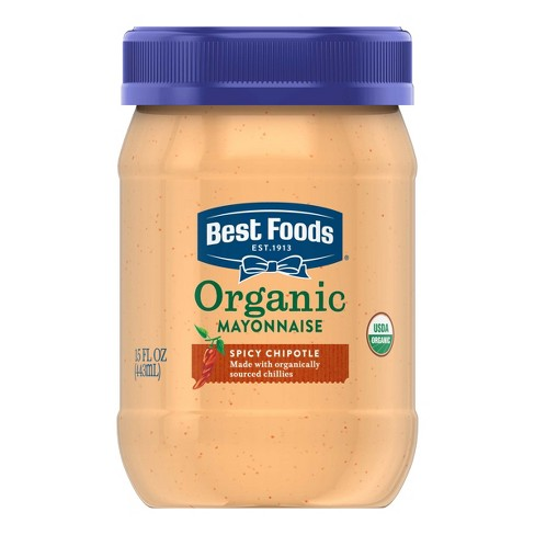 Best Foods® Organic Spicy Chipotle Mayonnaise - 15oz - image 1 of 5