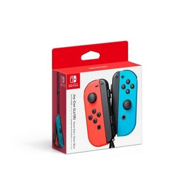 Nintendo Switch Joy-Con L/R Neon Red/Neon Blue