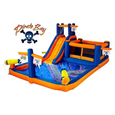 Blast Zone Pirate Bay Inflatable Water Park - image 1 of 1